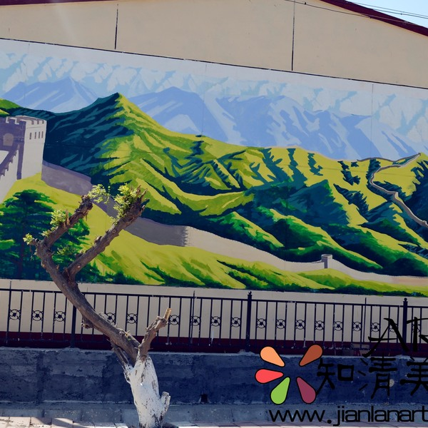 北京通州区张家湾文化墙彩绘
