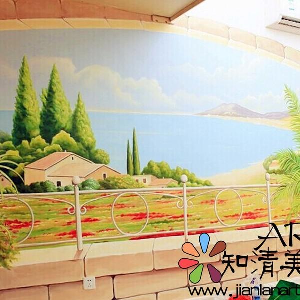 青岛极地餐厅彩绘